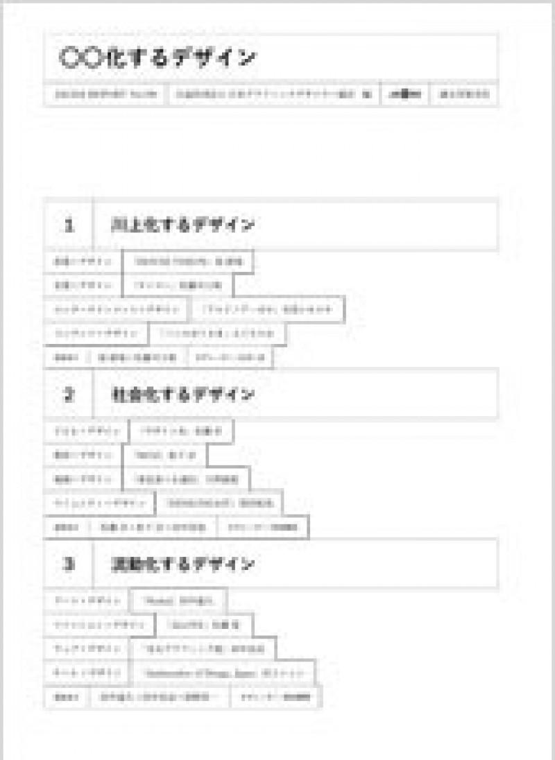 会報『JAGDA Report』190号 〇〇化するデザイン