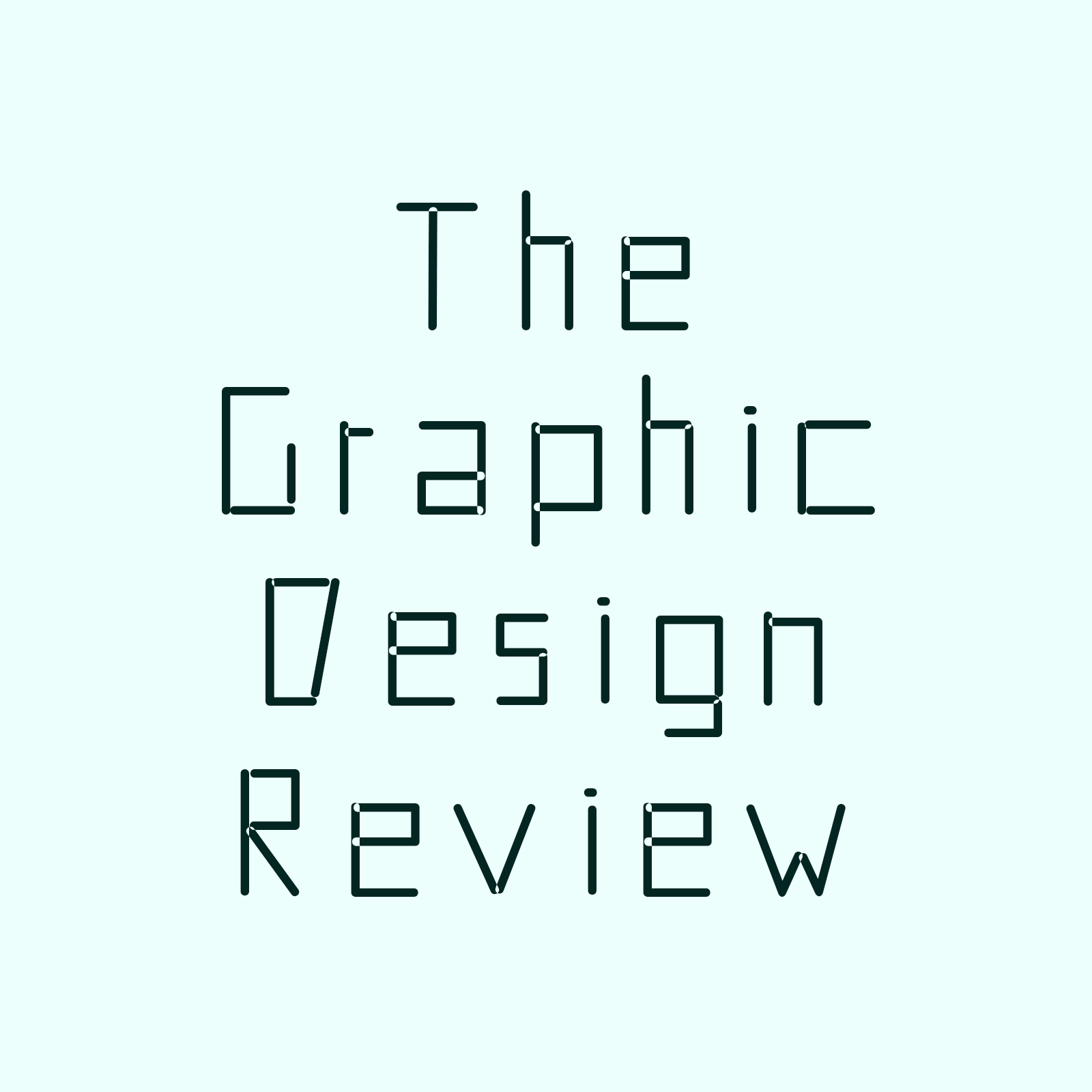 「The Graphic Design Review」スタート